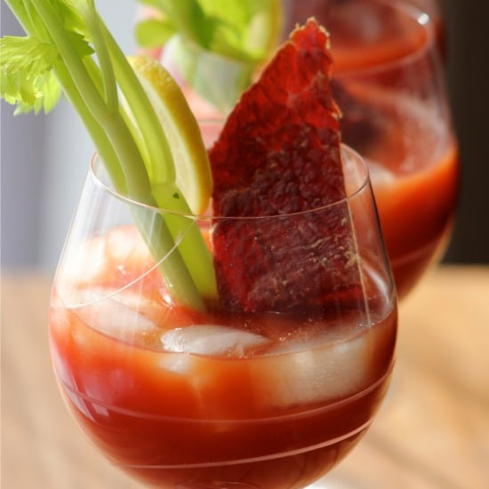 Bloody Mary with Beef Jerky: Morning After Bloody Mary