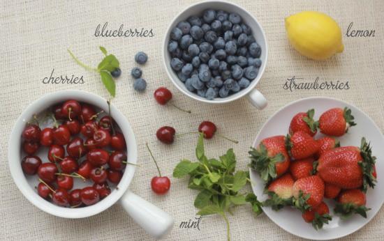 Quinoa Fruit Salad with Greek Yogurt