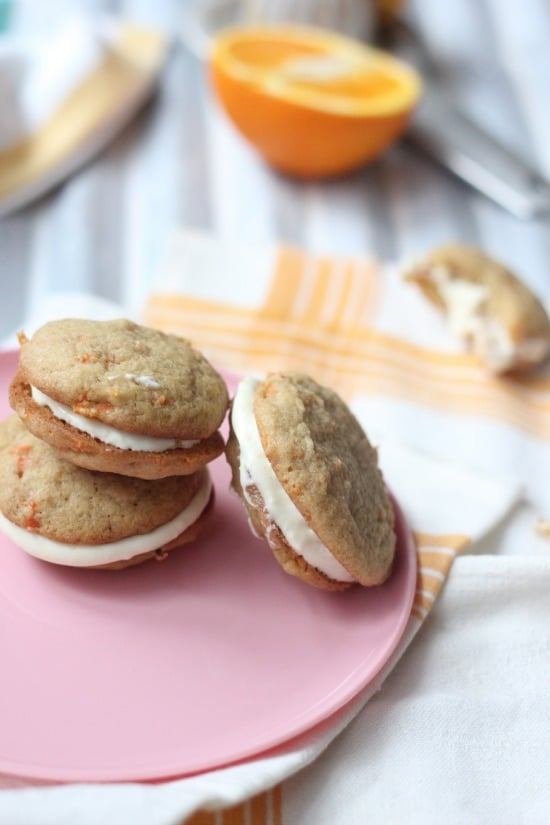 Carrot Cake Whoopie Pies | Baker Bettie