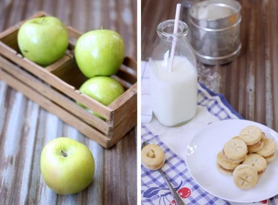 Mini Apple Pie Sandwich Cookies