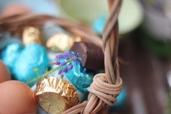 Homemade Dark Chocolate Easter Candy
