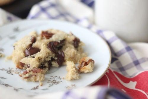 Single Serving Paleo Chocolate Chip Cookie