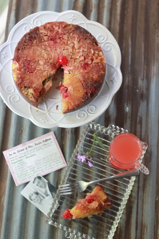 Paleo Pineapple Upside-Down Cake