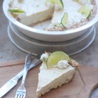 Key Lime Cashew Cream Pie