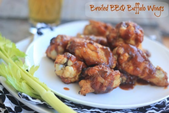 Oven Baked BBQ Buffalo Wings