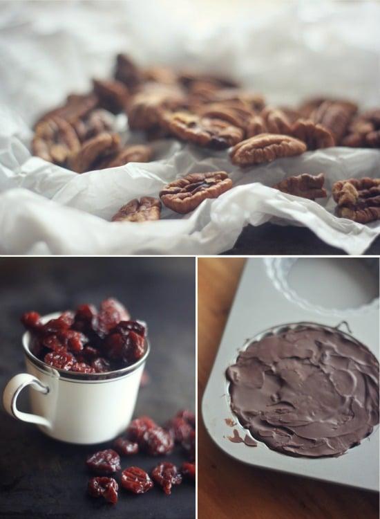 No Bake Chocolate Covered Cherry Torte