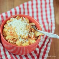 Cheesy Chili American Chop Suey