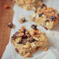 Vegan Granola Blondies