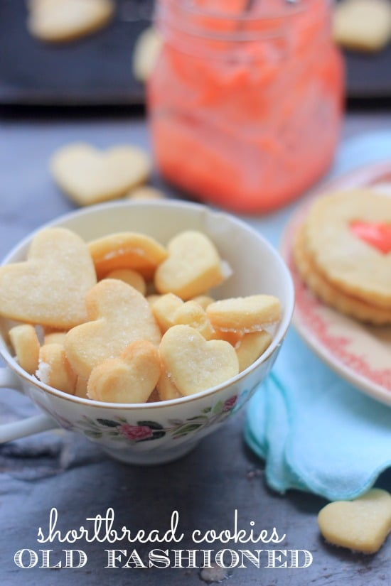 Strawberry Lemon Curd and Old Fashioned Shortbread Cookies - Baker ...