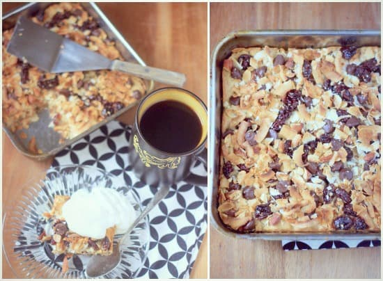 Granola Bar Blondies
