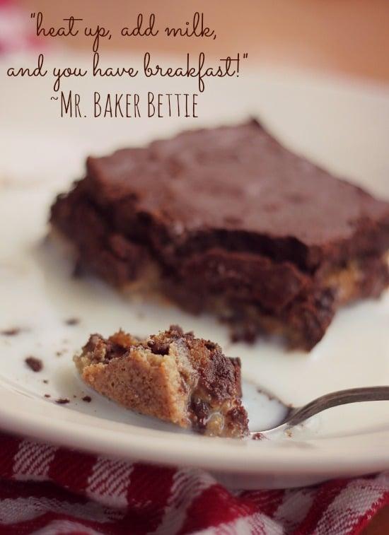 Chocolate Chip Cookie Brownie Sheet Cake