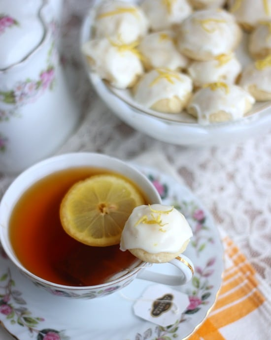 Lemon Goat Cheese Cookies