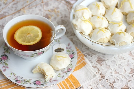 Lemon Goat Cheese Cookies | Baker Bettie