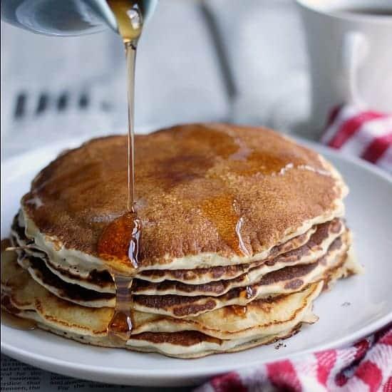 Classic Homemade Pancakes