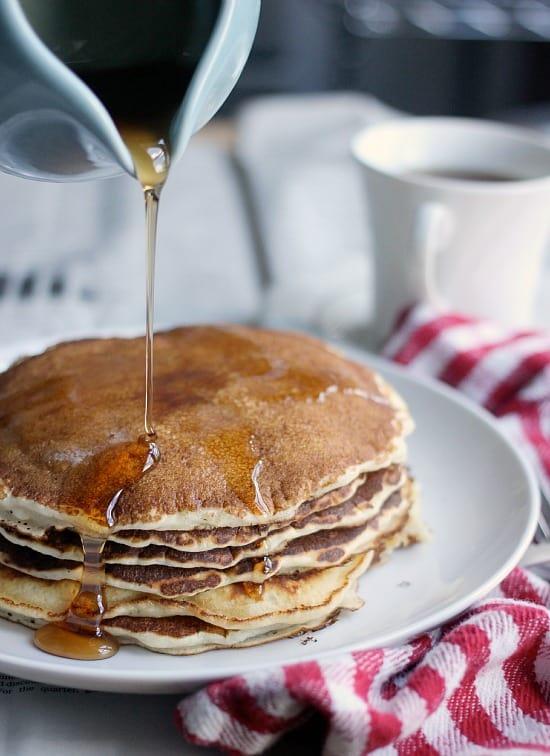 Easy Pancake Recipe 5 Ingredients, Classic Pancakes | Baker