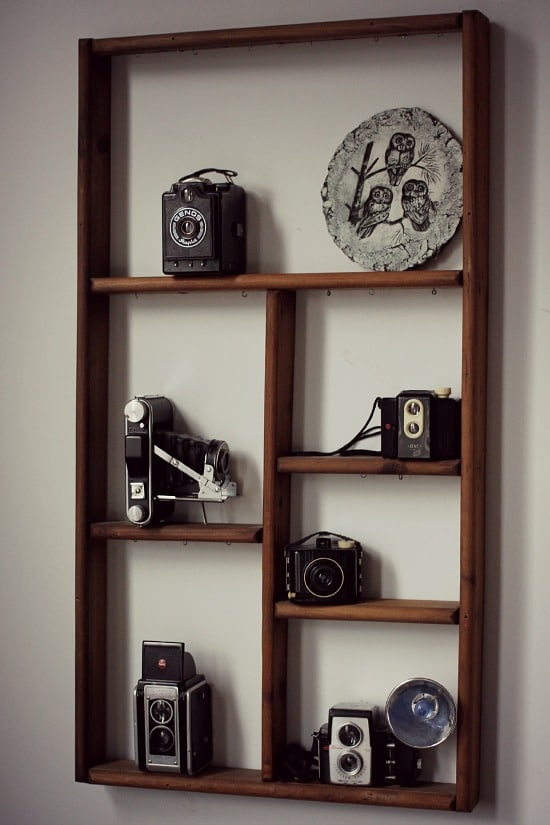 Vintage Camera Display Home Decor