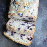 Blueberry Lemon Sour Cream Bread