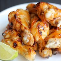 Sweet and Spicy Asian Wings