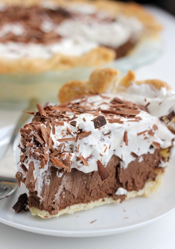 Chocolate French Silk Pie- Baker Bettie