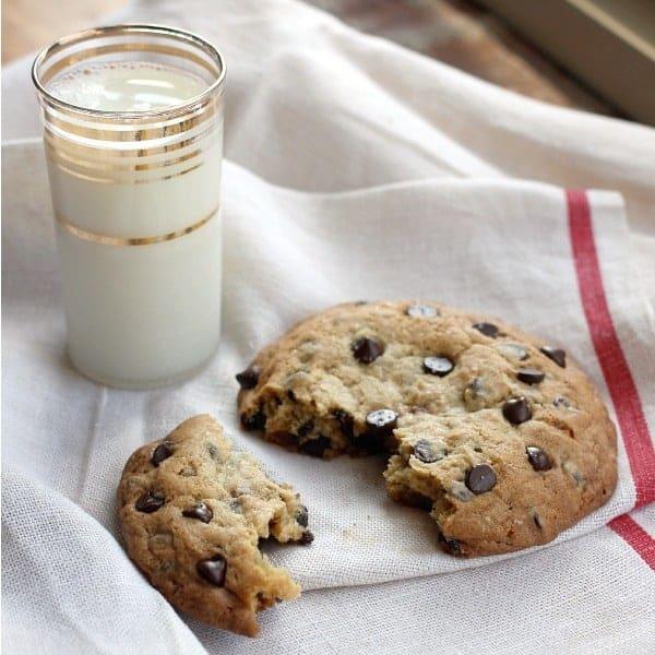 Big Ass Cookie Huge Chocolate Chip Cookie Baker Bettie