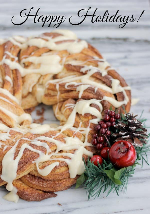 Cinnamon Roll Wreath- Baker Bettie