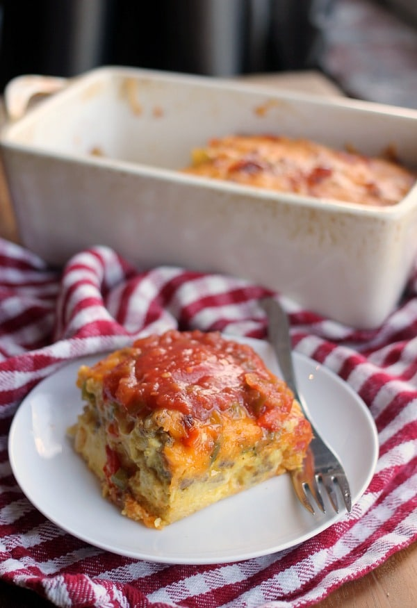 Sunshine Pudding: Sausage Egg & Cheese Casserole