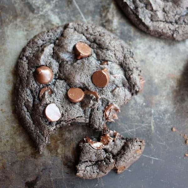Spicy Dark Chocolate and Cinnamon Cookies