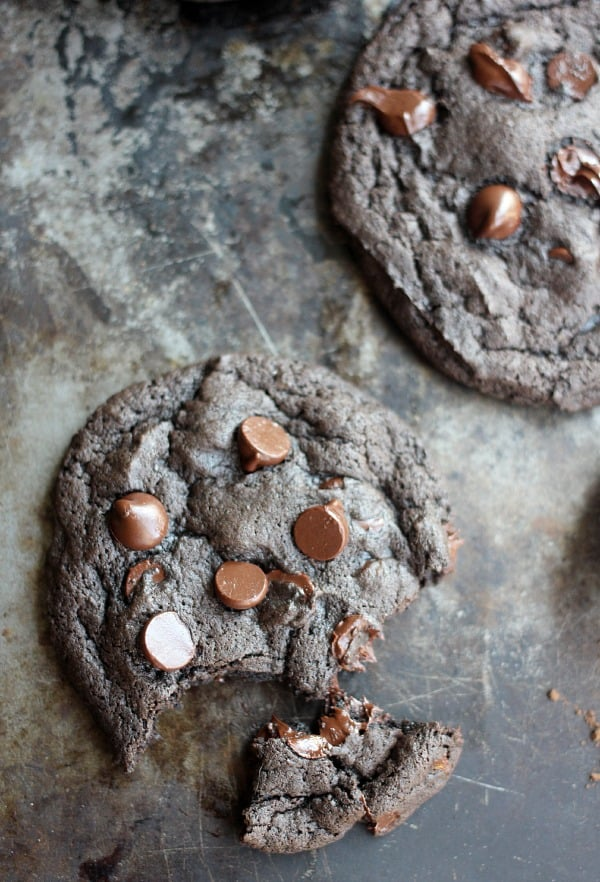Spicy Dark Chocolate and Cinnamon Cookies- Baker Bettie