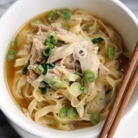 Chicken Noodle Soup Pho Fusion