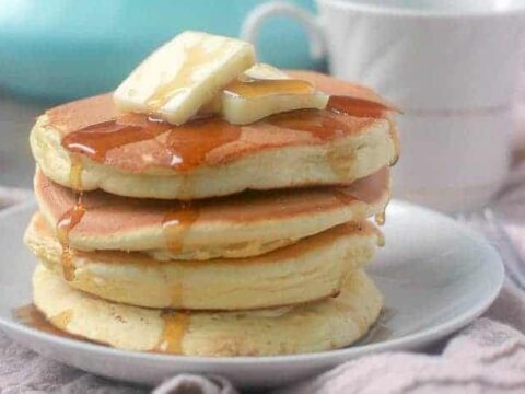 Pancakes without Baking Powder, Fluffy