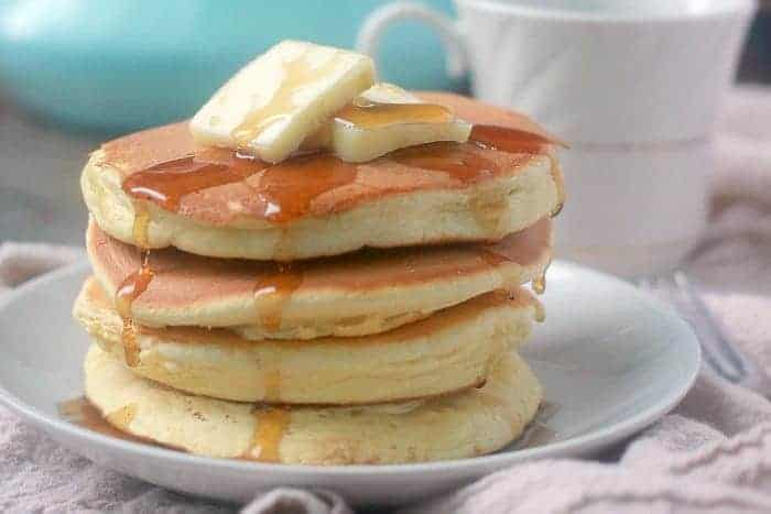 Easy pancake recipe without eggs and baking powder