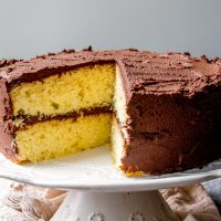 Fluffy Classic Yellow Cake