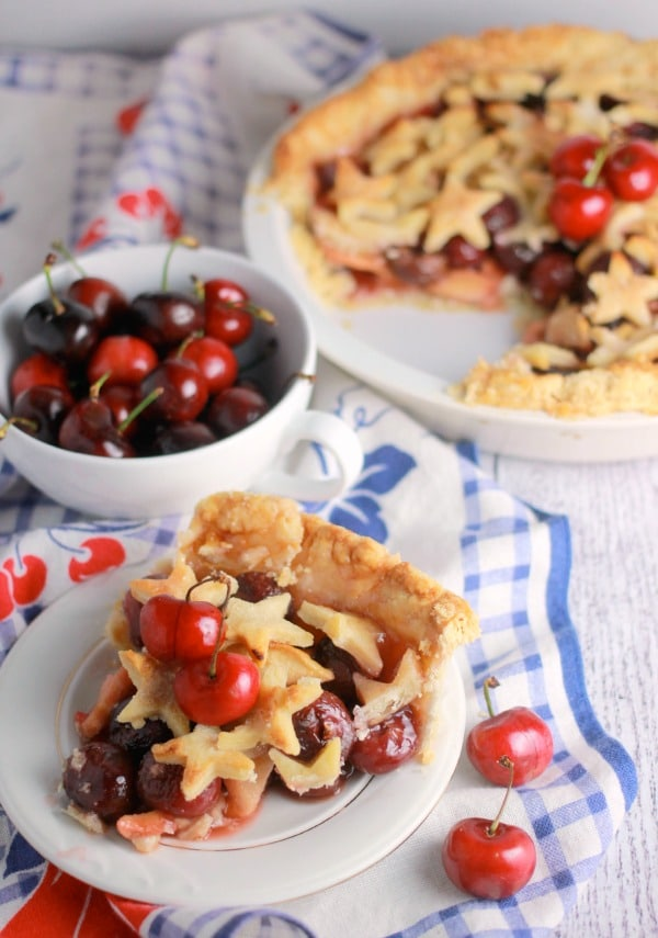 Cherry Apple Pie Recipe-Baker Bettie
