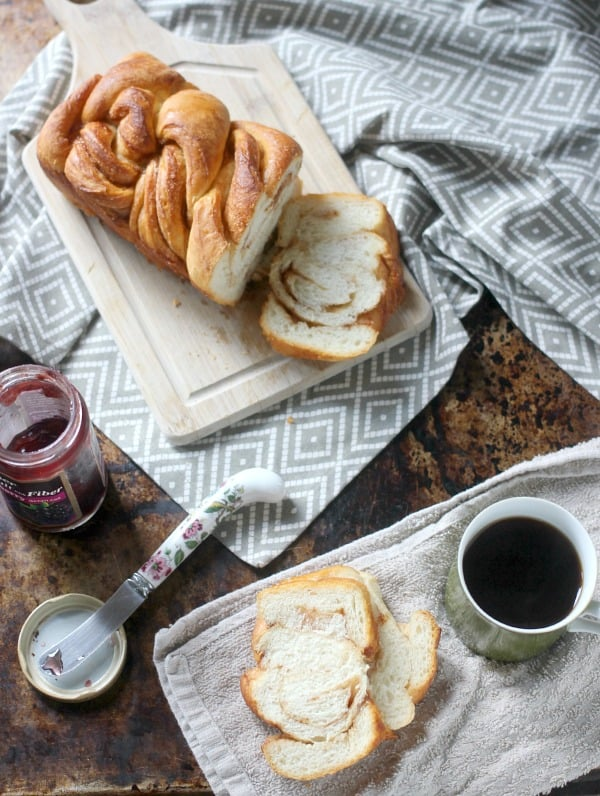 Braided Cinnamon Loaf with Vietnamese Cinnamon- Baker Bettie