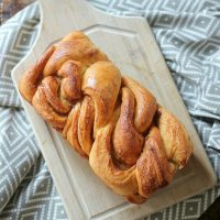 Braided Cinnamon Loaf