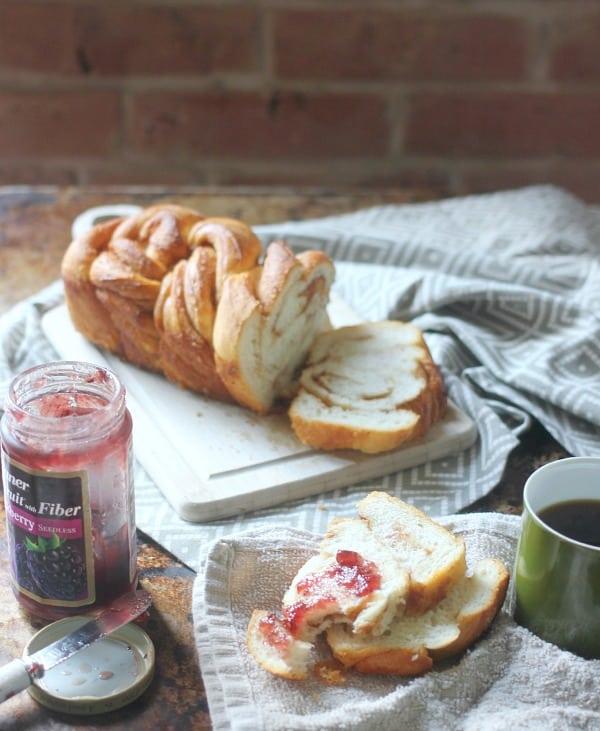 Braided Cinnamon Loaf with Vietnamese Cinnamon- Baker Bettie