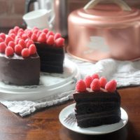 Devil's Food Cake with Chocolate Ganache