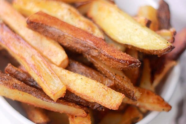 How To Make The Crispiest Oven Baked Fries Baker Bettie