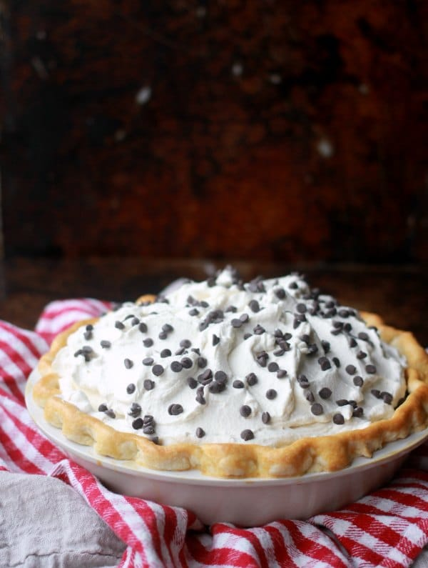 Chocolate Cream Pie Recipe- Baker Bettie