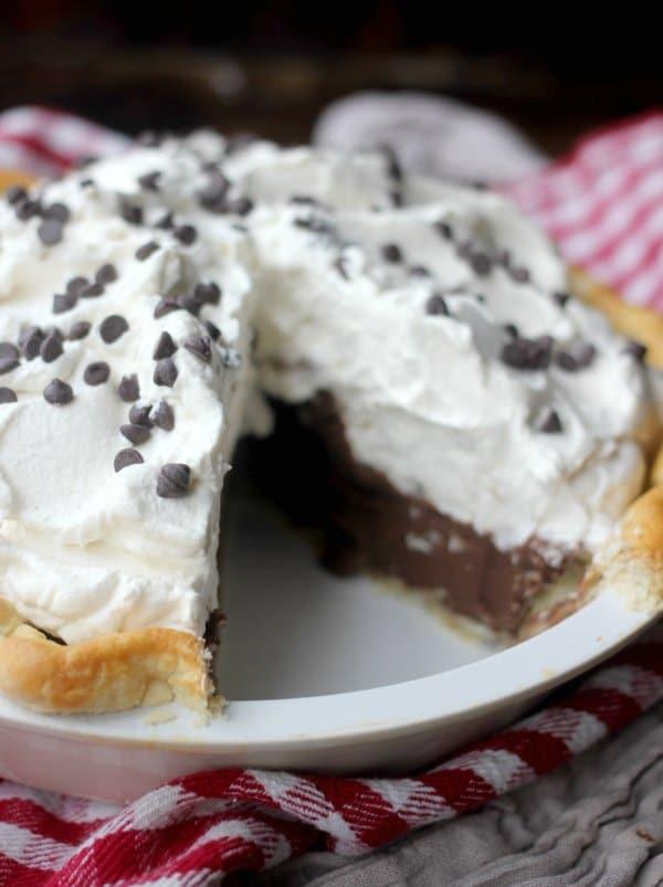 Chocolate Cream Pie Recipe- Baker Bettie
