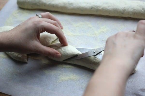 Cutting Epi Bread