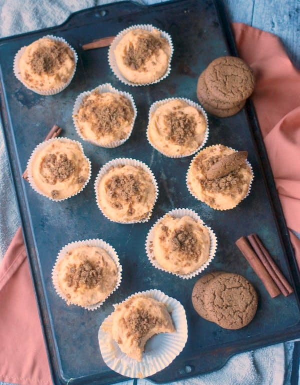 No-Bake Pumpkin Cheesecake Filling- Baker Bettie