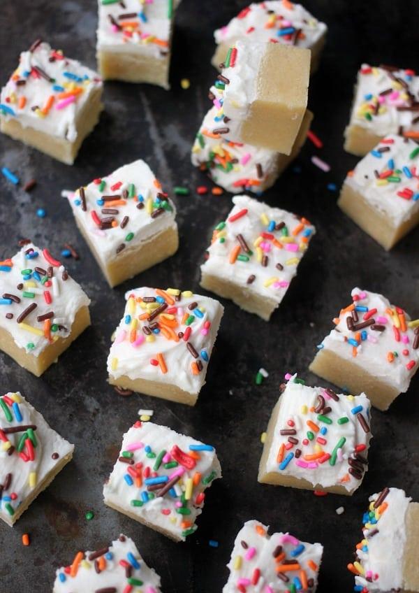 Ultra Soft Sugar Cookie Bars- Baker Bettie