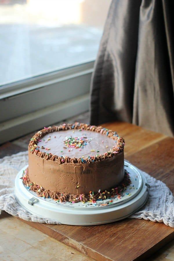 Moist Chocolate Cake With Swiss Meringue Buttercream | Baker Bettie