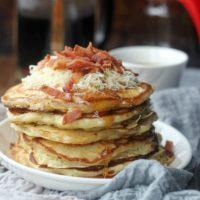 Savory Bacon Cheddar Pancakes
