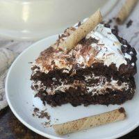 Chocolate Crunch Celebration Cake