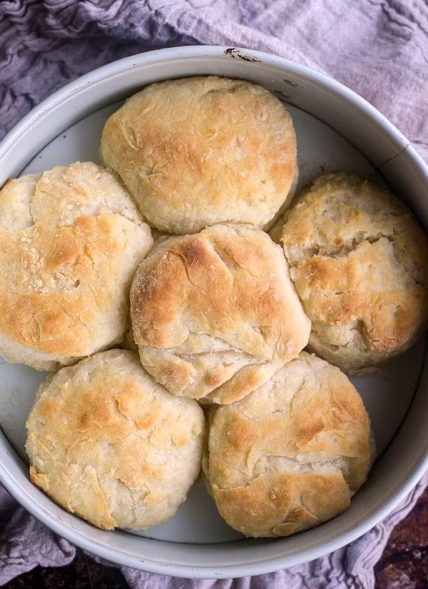 How to Make Lard Biscuits | Baker Betttie