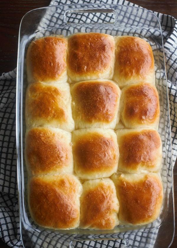 Make-Ahead Soft Yeast Rolls | Baker Bettie