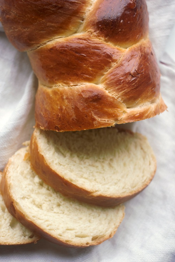 Three Braid Basic Challah Bread | Baker Bettie