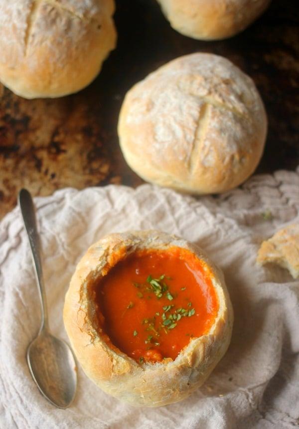 4 Ingredient Easy Bread Bowl Recipe   Baker Bettie